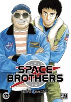 Space brothers Vol.13