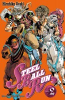 Mangas - Jojo's bizarre adventure - Saison 7 - Steel Ball Run Vol.2