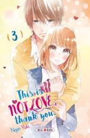 manga - This is not love thank you Vol.3
