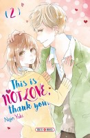 Manga - Manhwa - This is not love thank you Vol.2