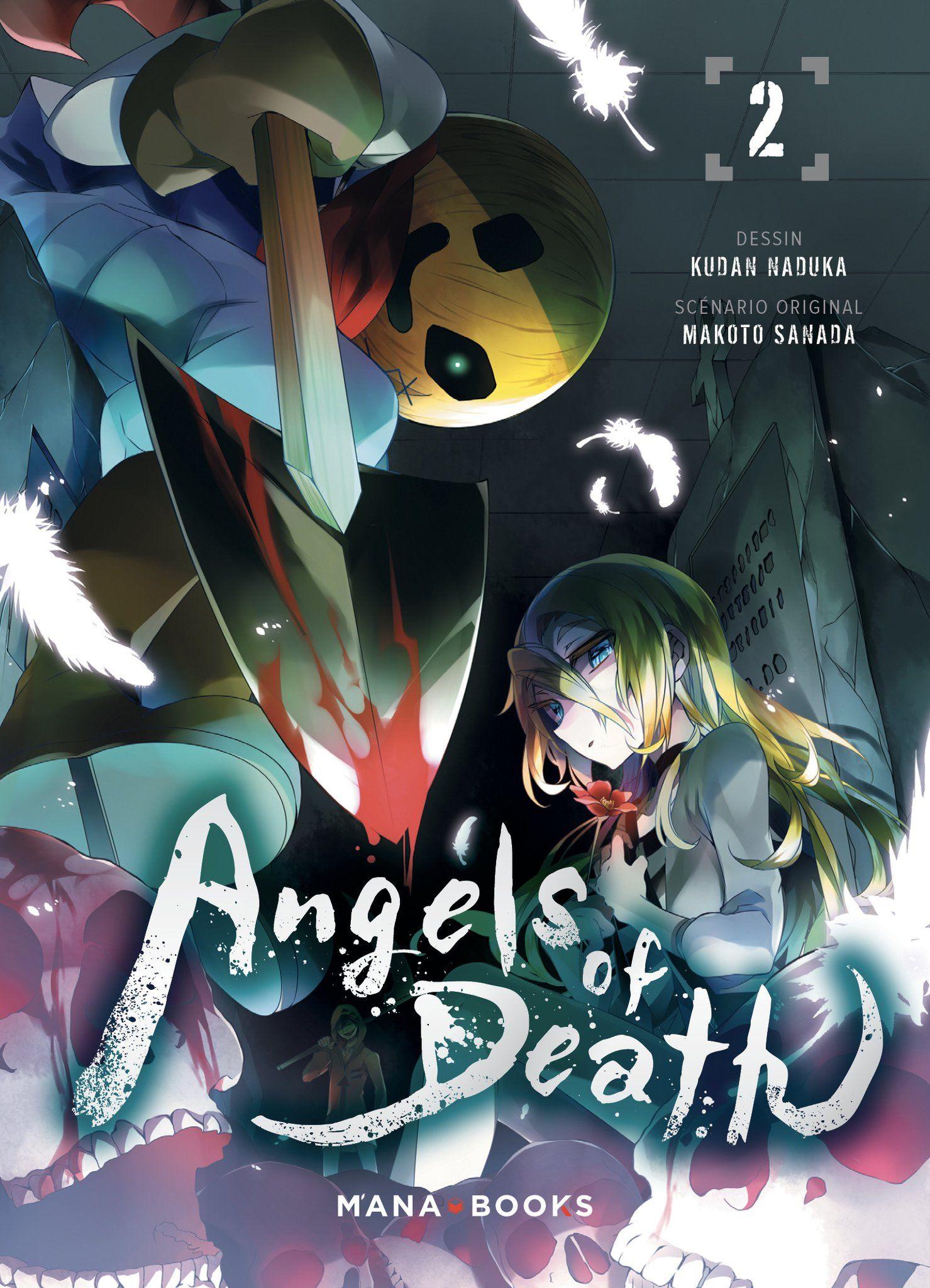 Sortie Manga au Québec JUILLET 2021 Angels_of_Death_2_mana