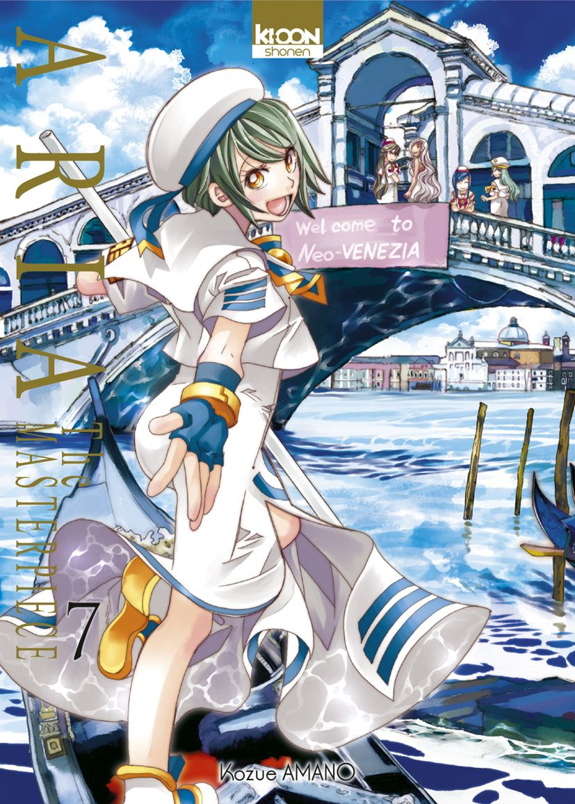 Sortie Manga au Québec JUILLET 2021 Aria_Masterpiece_7_ki-oon