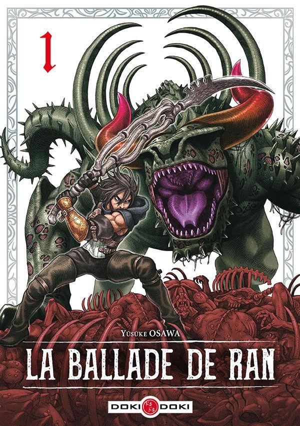 Sortie Manga au Québec JUILLET 2021 Ballade_de_Ran_1_doki