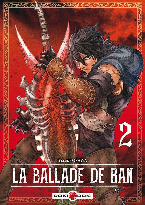 Sortie Manga au Québec JUILLET 2021 Ballade_de_Ran_2_doki