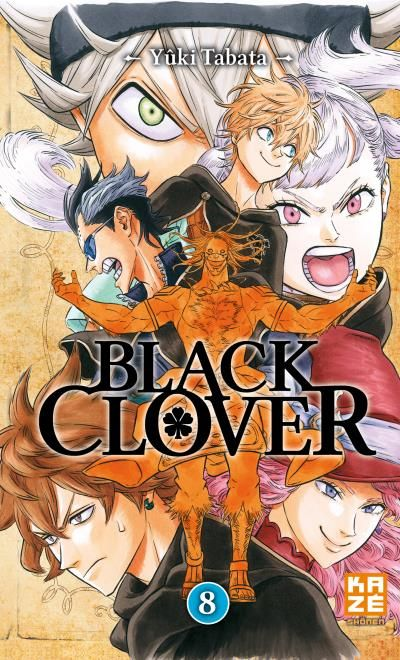 Black Clover Vol.8