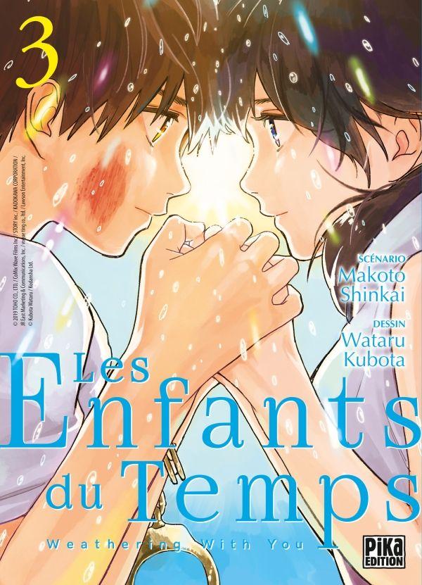 Sortie Manga au Québec MAI 2021 Enfants_du_temps_3_pika