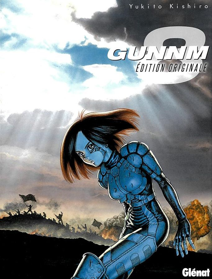 Manga - Manhwa - Gunnm - Edition Originale Vol.8