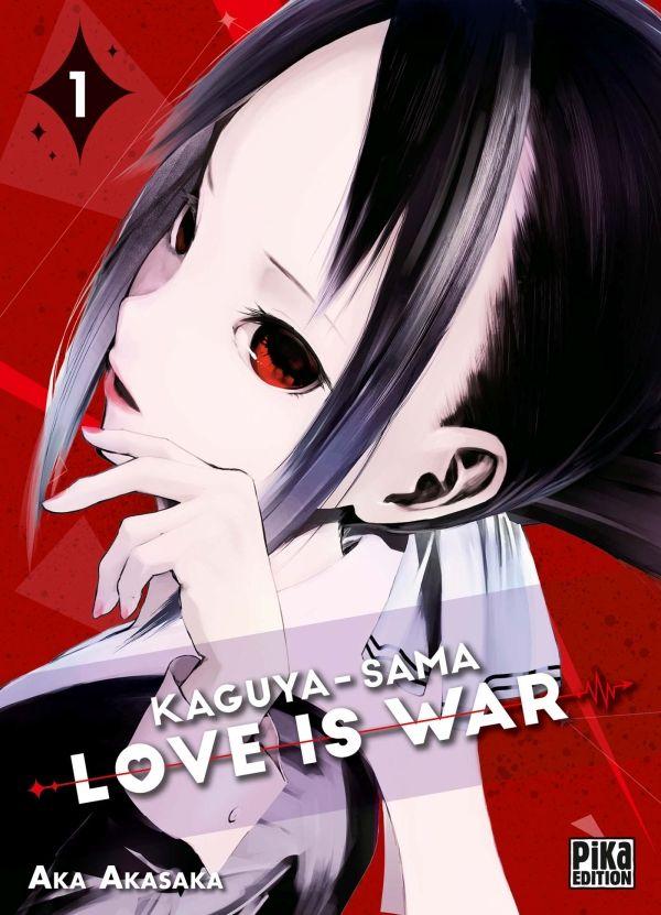 Sortie Manga au Québec JUILLET 2021 Kaguya-sama-Love_is_War-1-pika