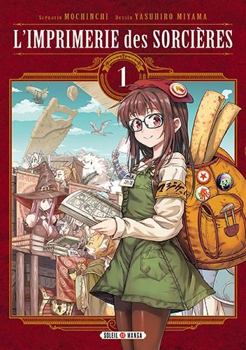 Manga - Manhwa - Imprimerie des sorcières (l') Vol.1