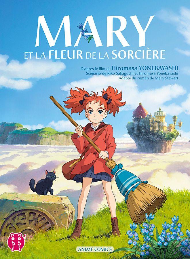 Manga - Manhwa - Mary et la fleur de la sorcière - Animé Comics