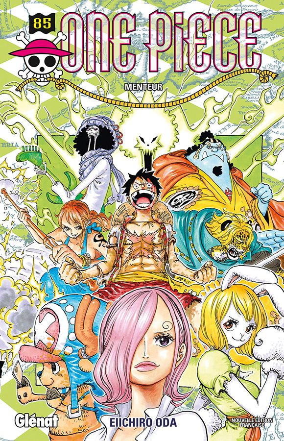 Planning des sorties Manga 2018 One-piece-85-glenat
