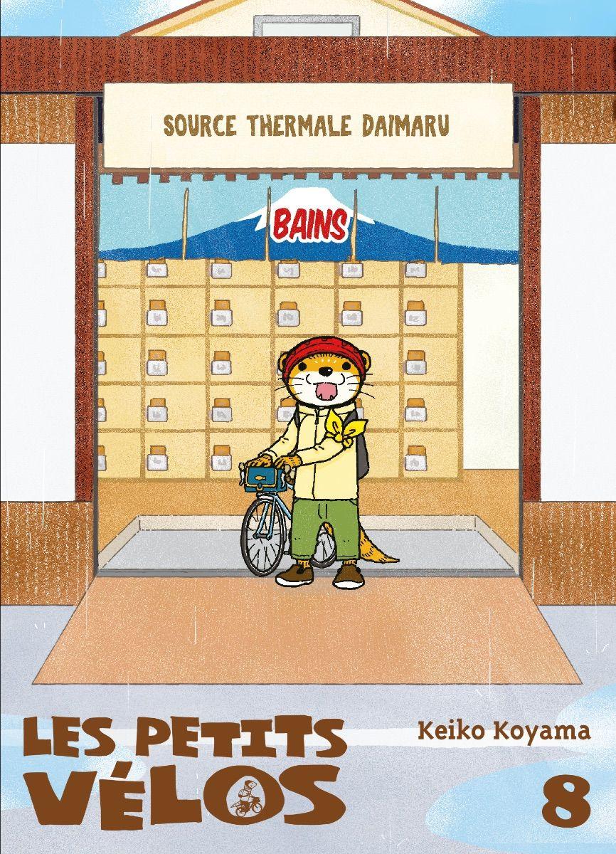 Sortie Manga au Québec JUILLET 2021 Petits_velos_8_komikku