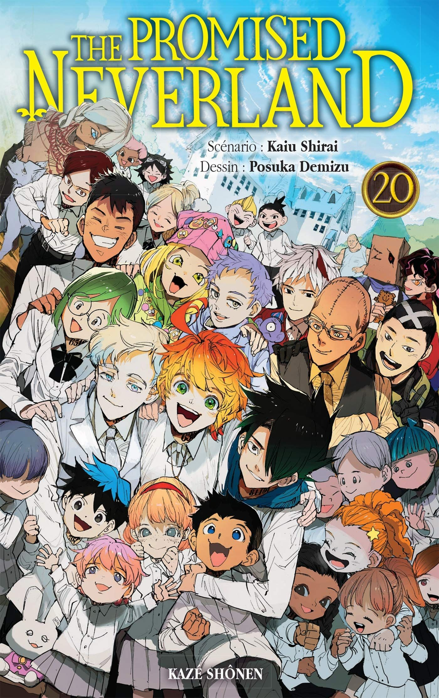 Manga - Manhwa - The Promised Neverland Vol.20