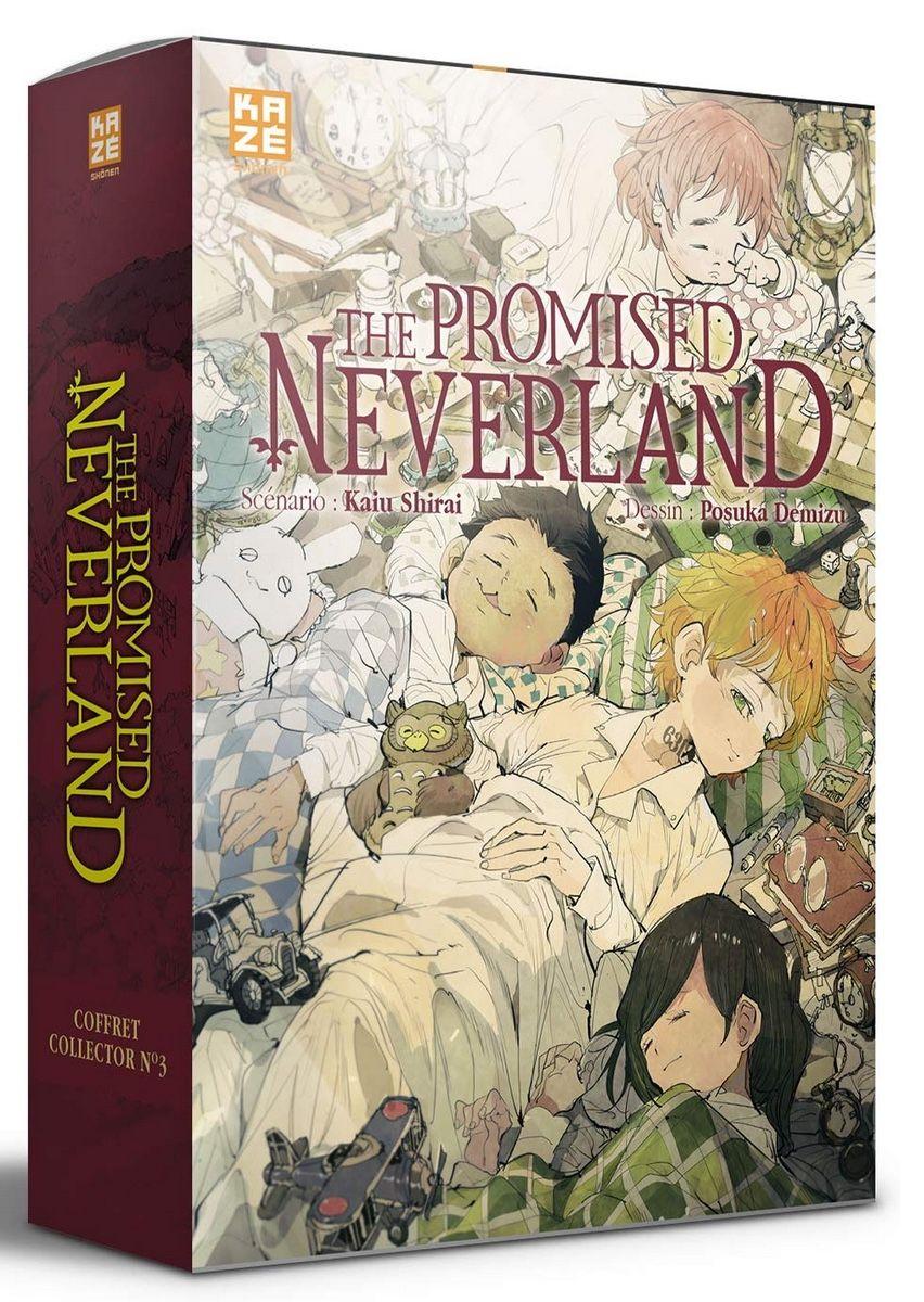 Manga - Manhwa - The Promised Neverland - T20 + Roman 3