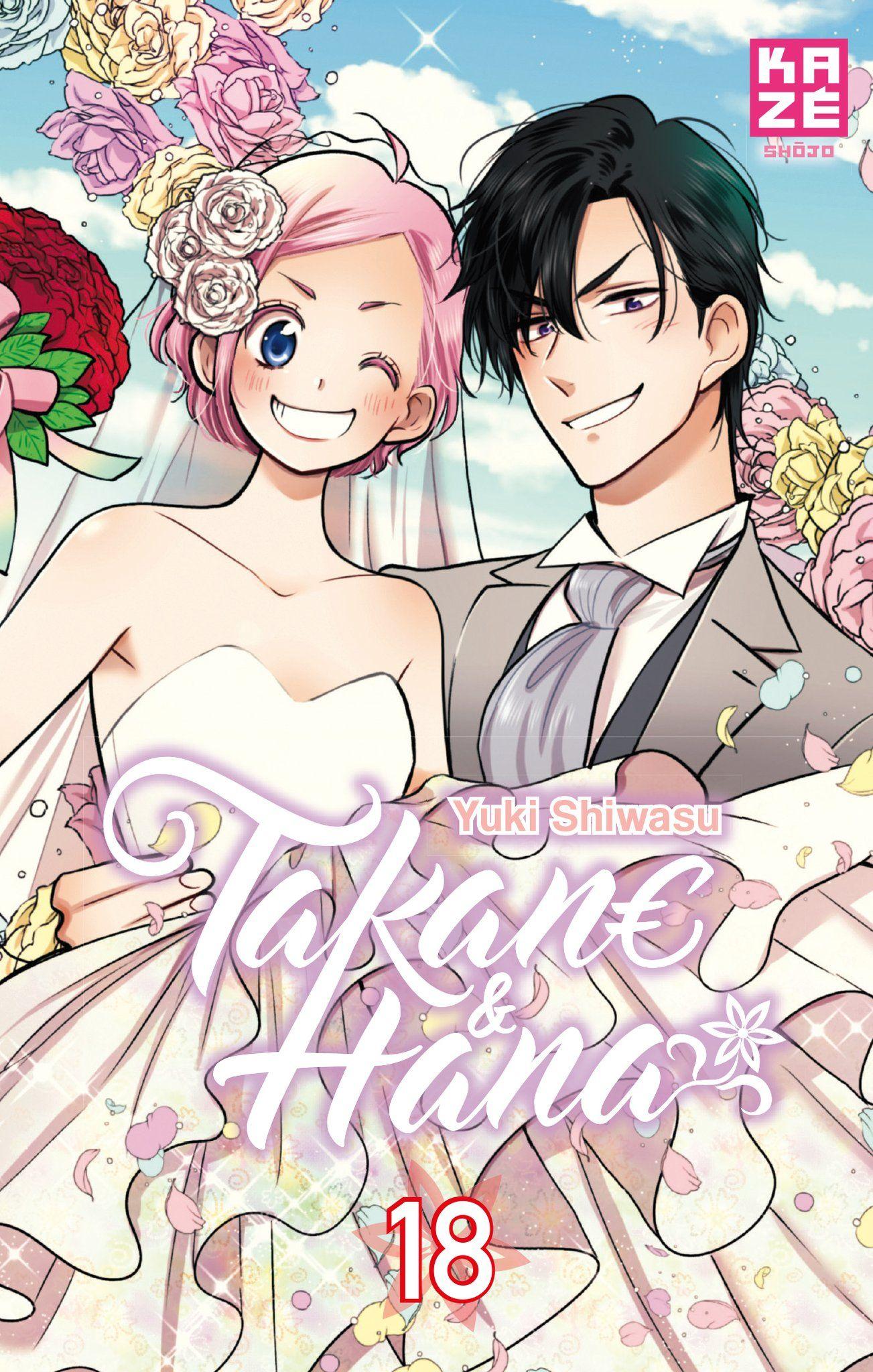 Sortie Manga au Québec JUIN 2021 Takane-Hana-18-kaze