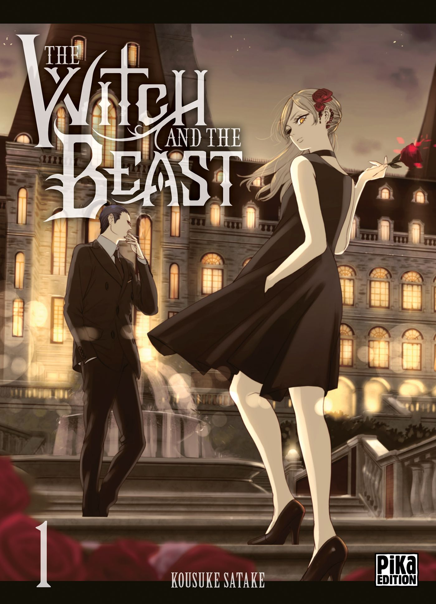 Sortie Manga au Québec JUIN 2021 The_Witch_and_the_Beast_1_pika