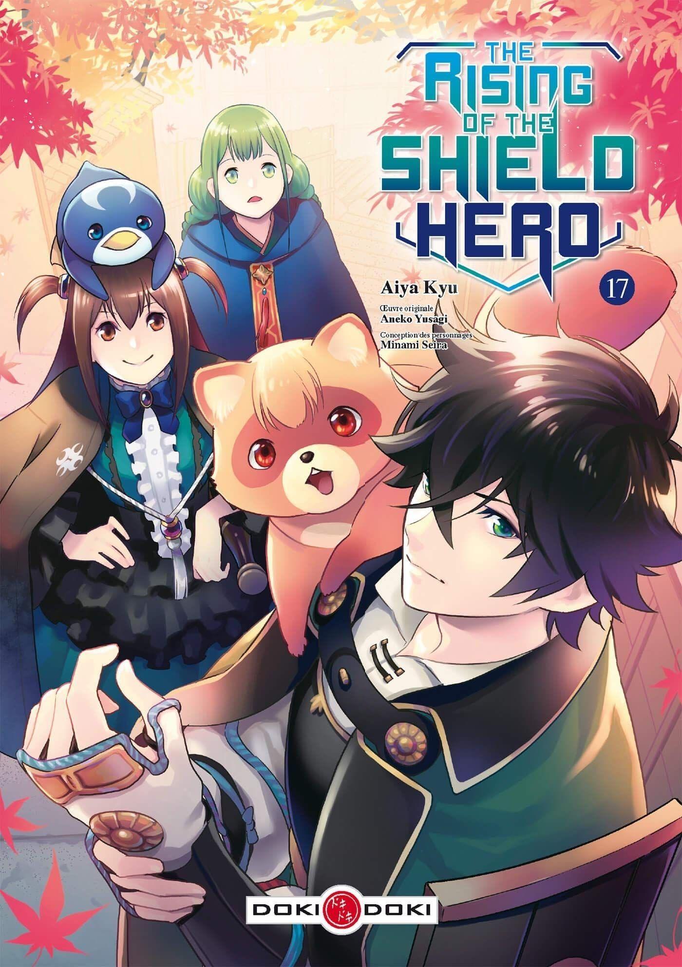 Sortie Manga au Québec JUIN 2021 The_rising_of_the_shield_Hero_17_doki