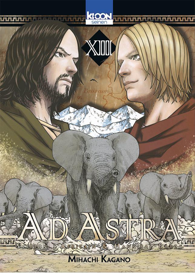 Vol13 Ad Astra Scipion Lafricain Hannibal Barca Manga