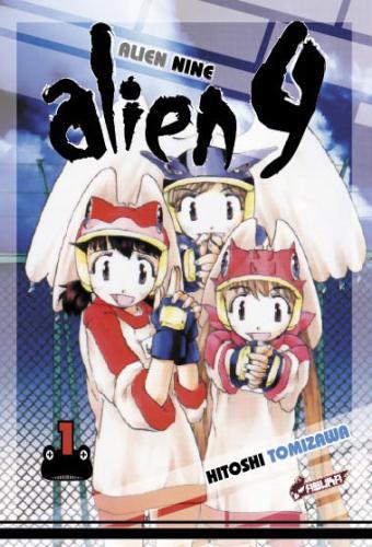 vol1 alien nine manga manga news
