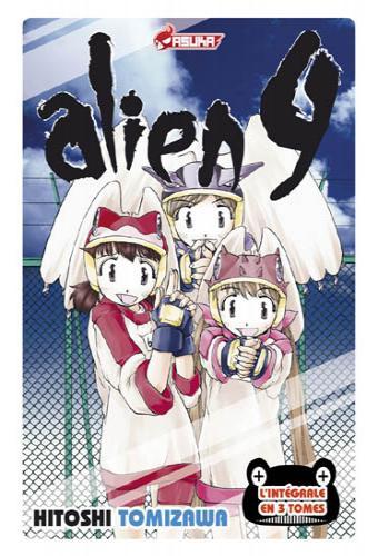 alien nine coffret int233gral manga manga news