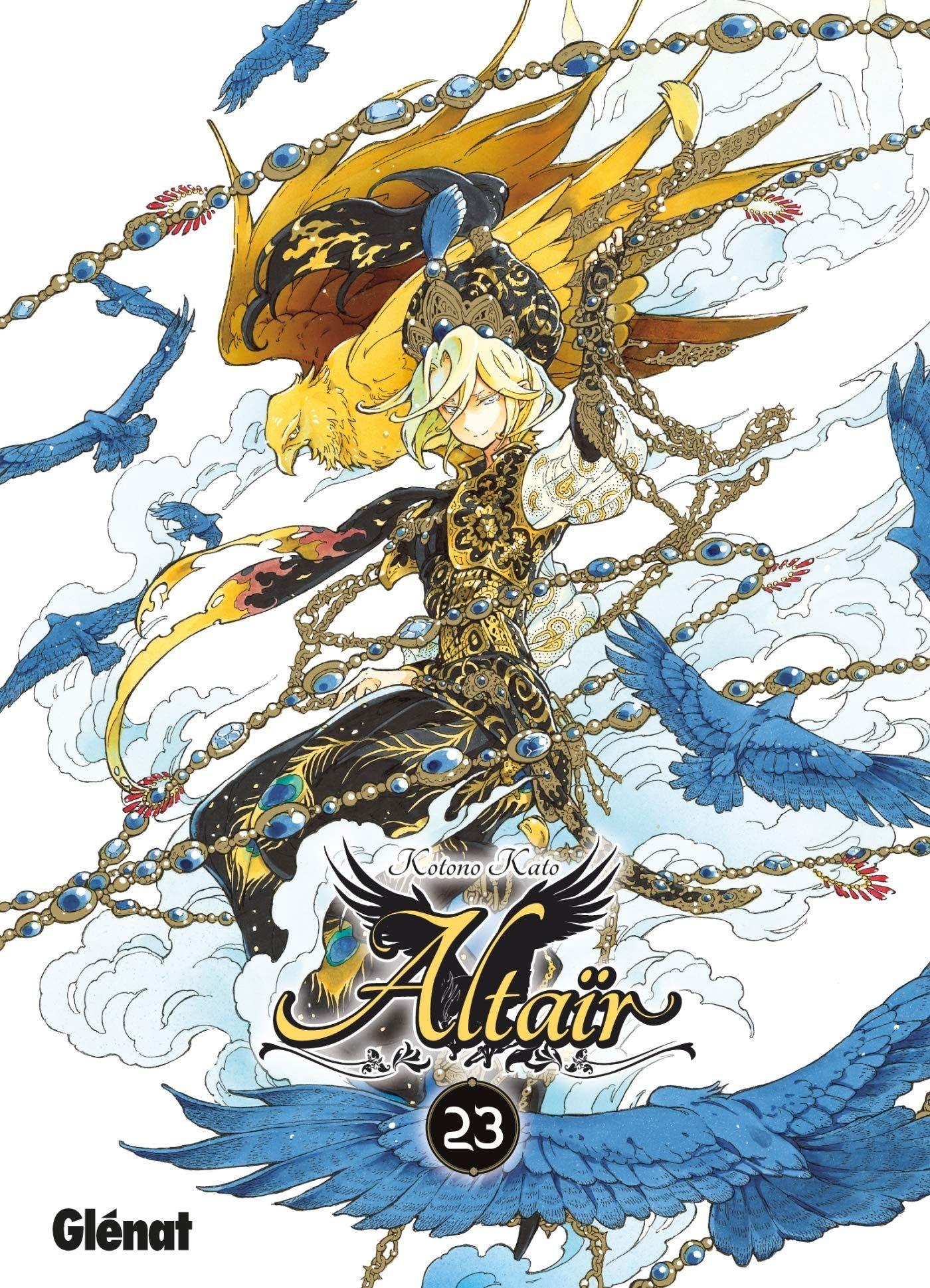 Sortie Manga au Québec JUIN 2021 Altair-23-glenat