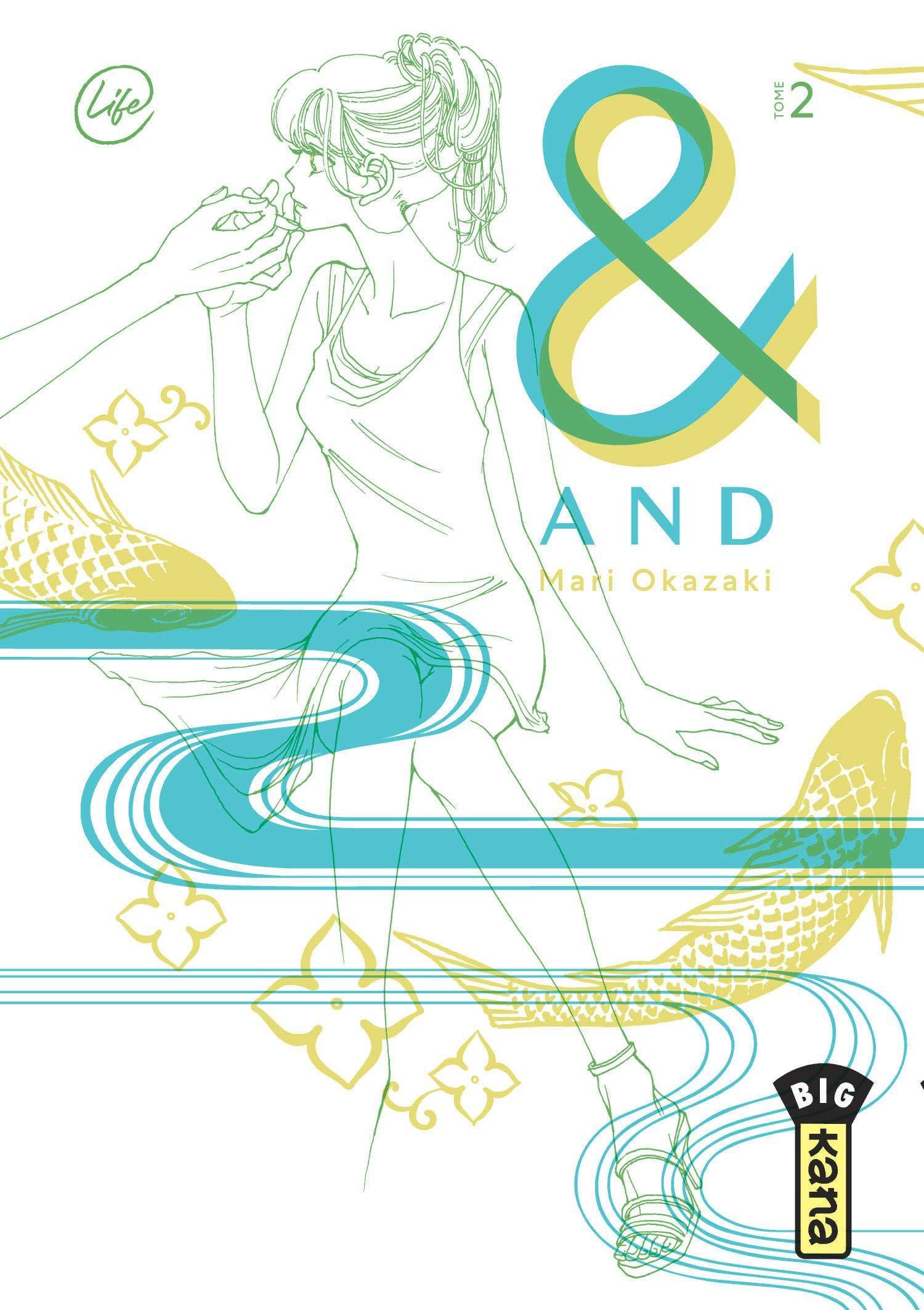 Sortie Manga au Québec JUILLET 2021 And-2-kana