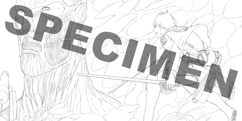 Un livre de coloriages de l 39 attaque des titans chez pika 15 mai 2017 manga news - Coloriage manga livre ...