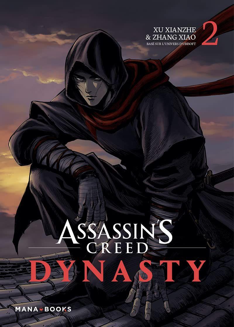 Sortie Manga au Québec JUILLET 2021 Assassin-creed-dynasty-2-mana