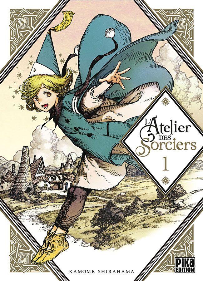 Manga - Manhwa - Atelier des sorciers (l') Vol.1