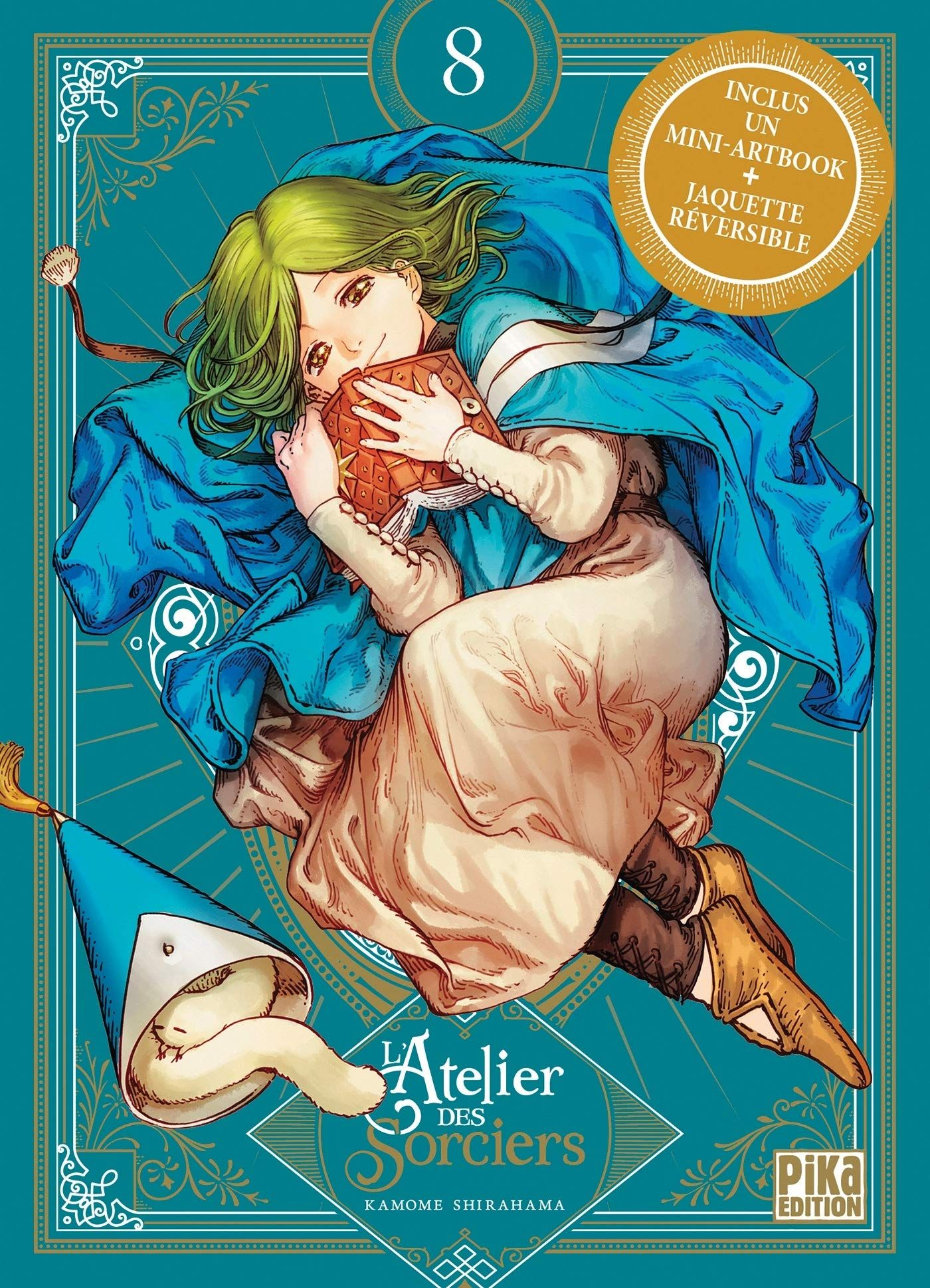 Manga - Manhwa - Atelier des sorciers (l') - Collector Vol.8