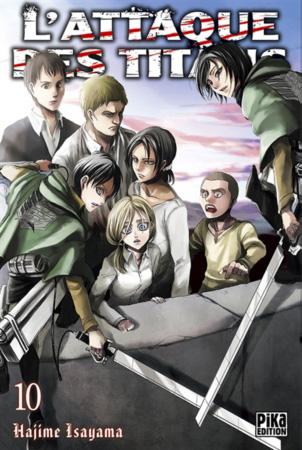 Attaque Des Titans (l') Vol.10