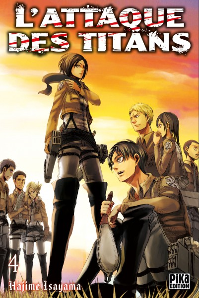 Attaque Des Titans (l') Vol.4