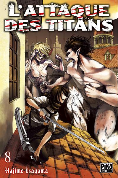 Attaque Des Titans (l') Vol.8