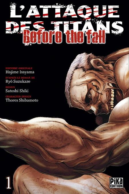 Attaque Des Titans (l') - Before the Fall Vol.1