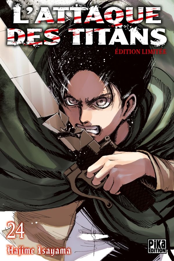 Attaque Des Titans (l') - Edition collector Vol.24