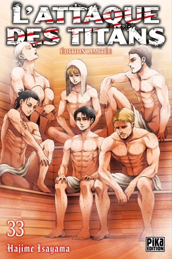 Sortie Manga au Québec JUILLET 2021 Attaque-titans-33-collector-pika