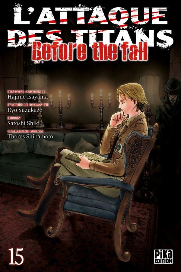 Attaque Des Titans (l') - Before the Fall Vol.15