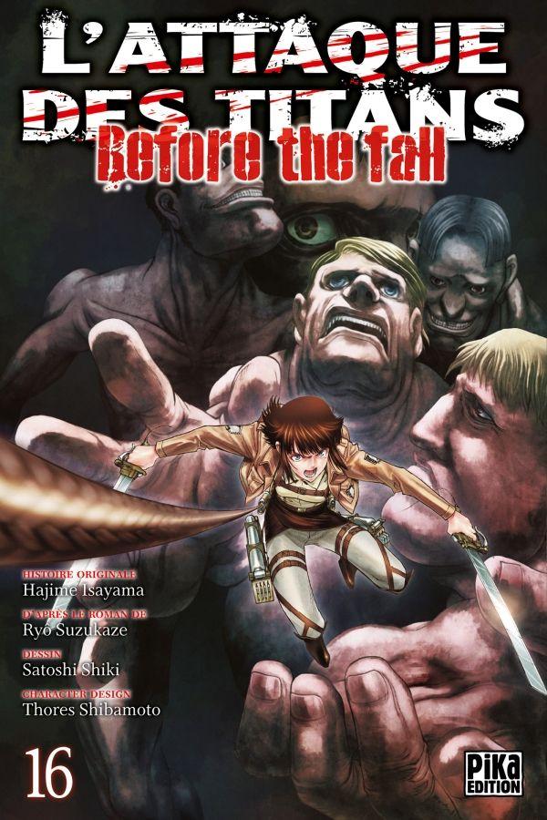 Attaque Des Titans (l') - Before the Fall Vol.16