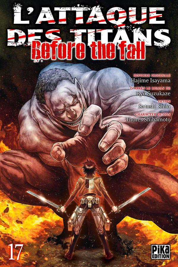 Attaque Des Titans (l') - Before the Fall Vol.17