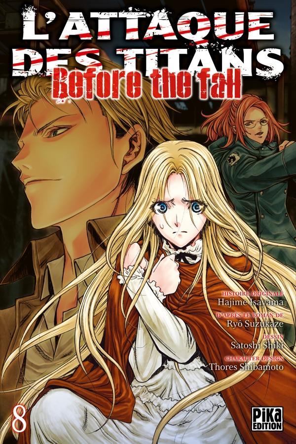 Attaque Des Titans (l') - Before the Fall Vol.8