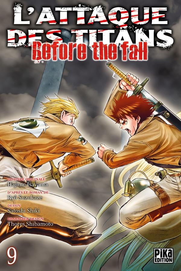Attaque Des Titans (l') - Before the Fall Vol.9