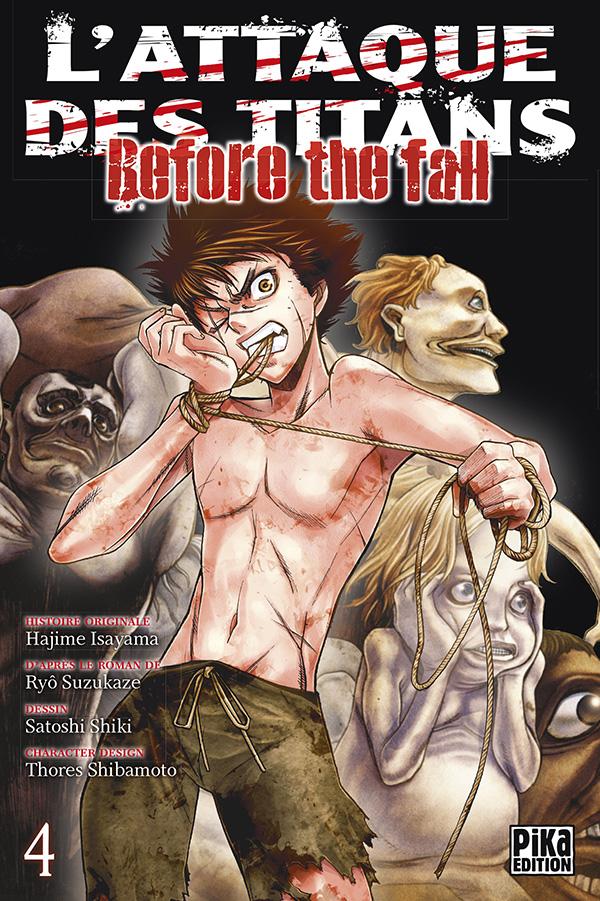 Attaque Des Titans (l') - Before the Fall Vol.4