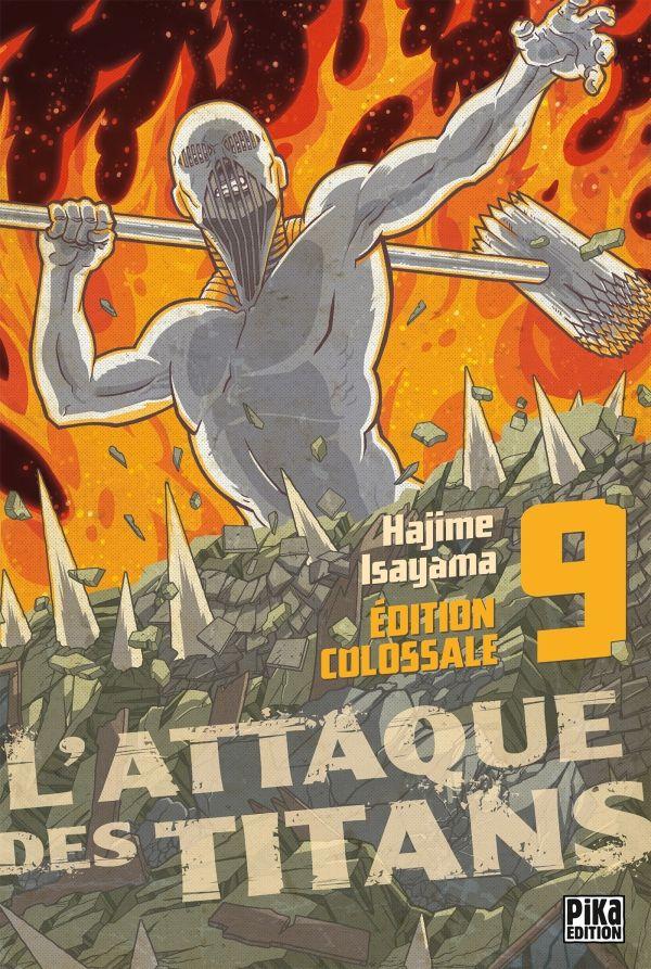 Attaque Des Titans (l') - Edition colossale Vol.9
