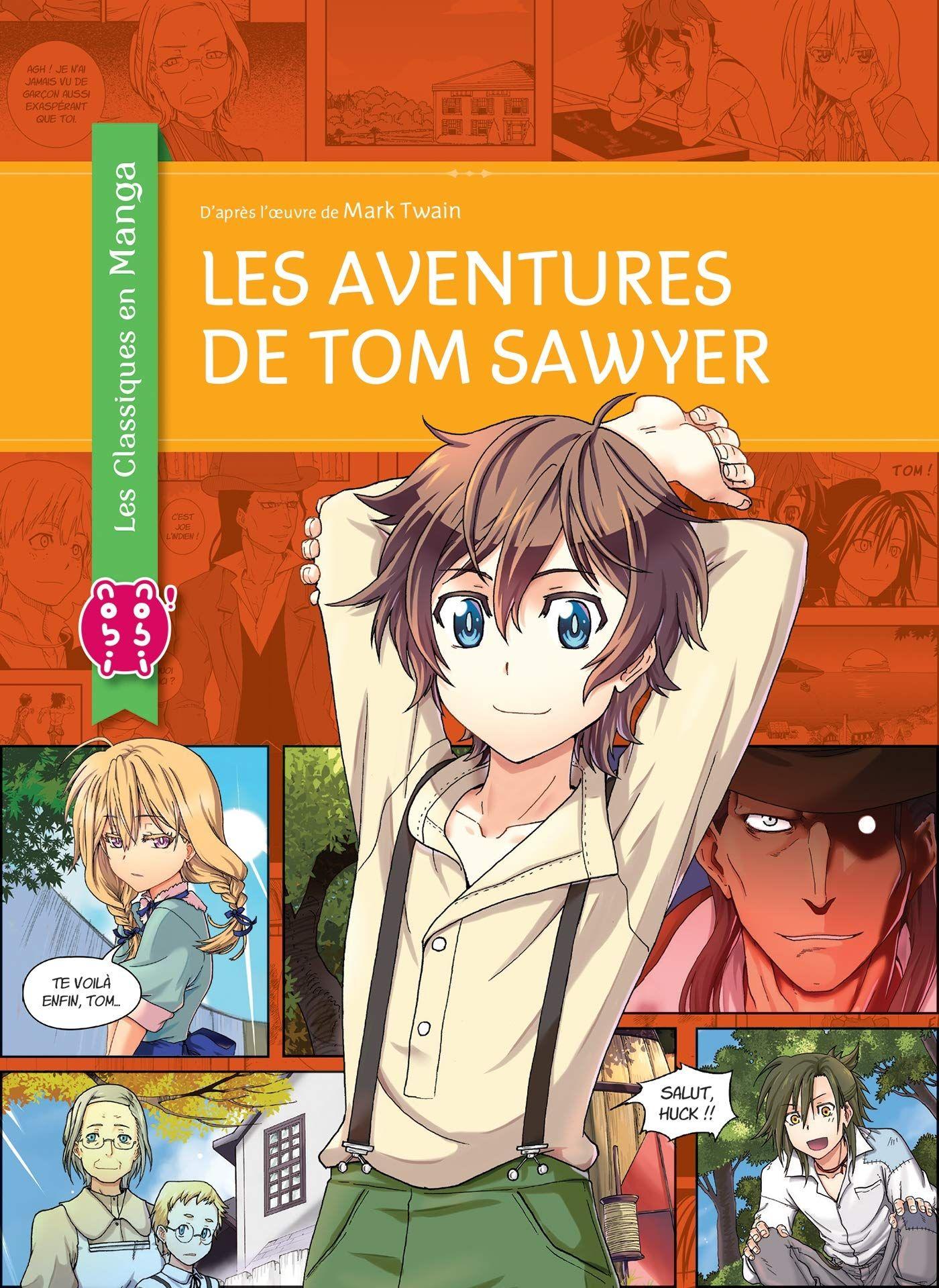 Sortie Manga au Québec JUIN 2021 Aventure-tom-sawyer-nobi-2021