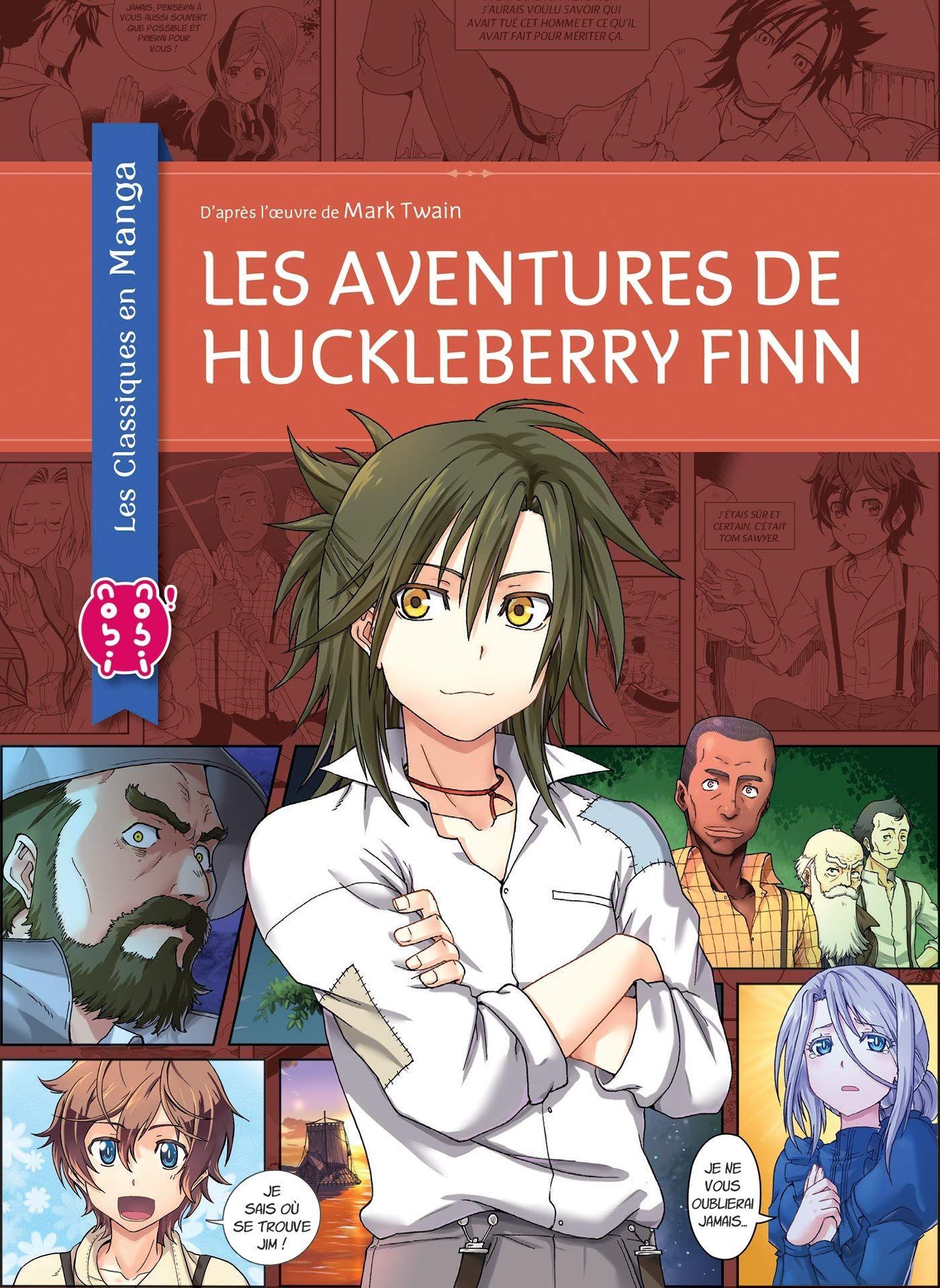 Sortie Manga au Québec JUIN 2021 Aventures-huckleberry-finn-nobi