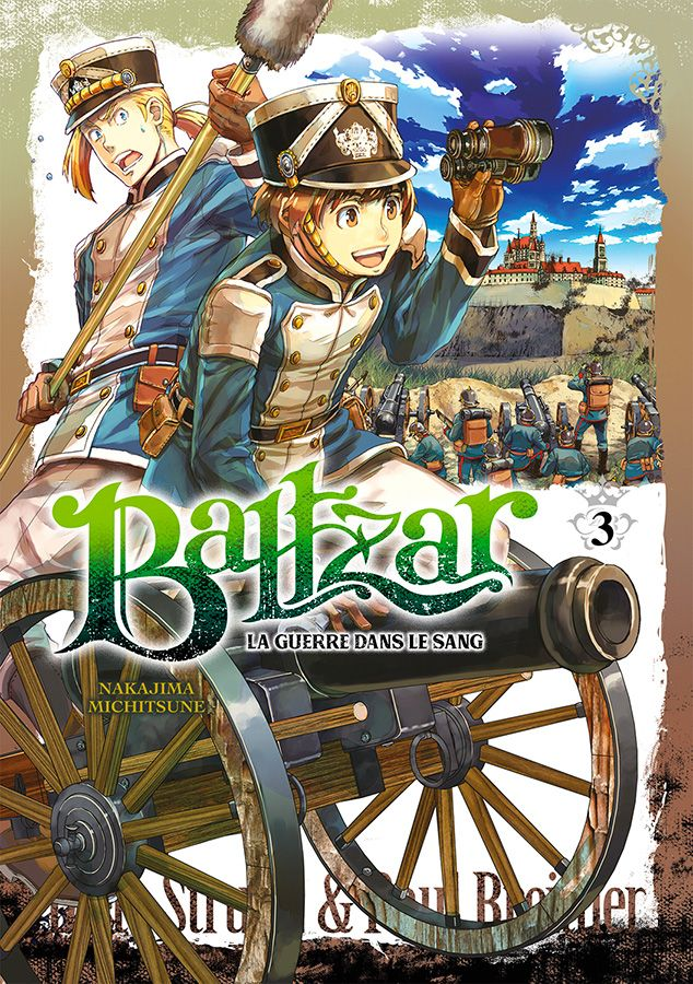 Manga - Manhwa - Baltzar - La guerre dans le sang Vol.3