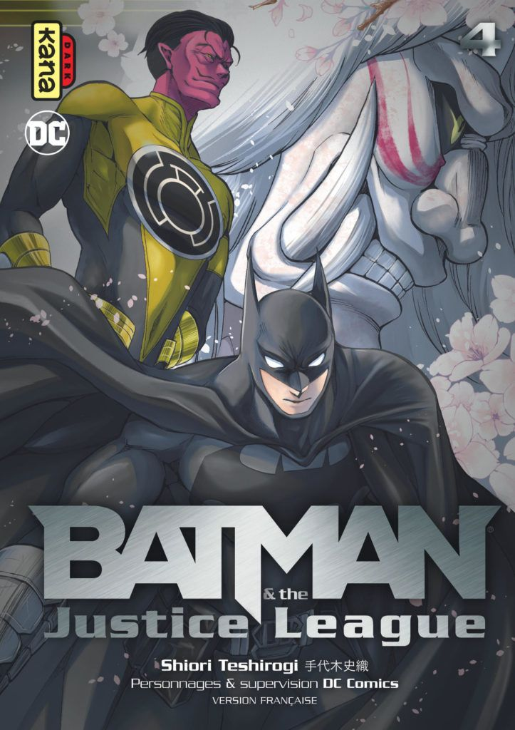 Manga - Manhwa - Batman & Justice League Vol.4