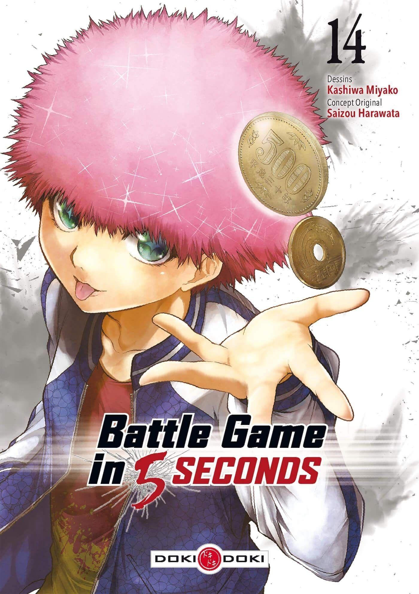 Sortie Manga au Québec JUIN 2021 Battle_game_5seconds_14_doki