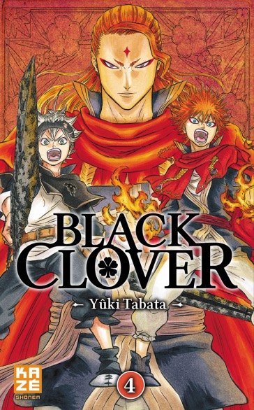 Manga - Manhwa - Black Clover Vol.4