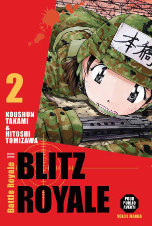 vol2 blitz royale br ii manga manga news